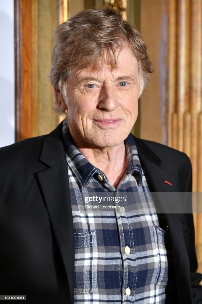 Robert Redford attends the 'The Old Man & The Gun' premiere during 2018 Toronto International Film Festival at The Elgin on September 10, 2018 in Toronto, Canada.