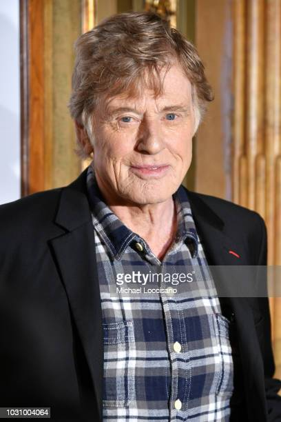 Robert Redford attends the The Old Man The Gun premiere during 2018 Toronto International Film Festival at The Elgin on September 10 2018 in Toronto...