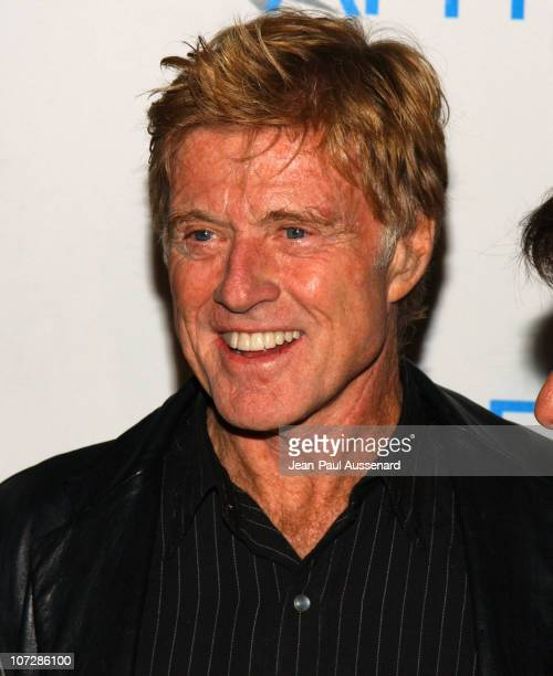 Robert Redford during AFI Film Festival Screening of James Redford's Directorial Debut 'SPIN' Arrivals at Arclight Cinemas in Hollywood California...