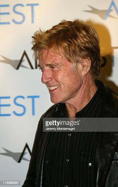 Robert Redford during AFI Film Festival Screening of James Redford's Directorial Debut Spin at Arclight Cinema in Holllywood California United States
