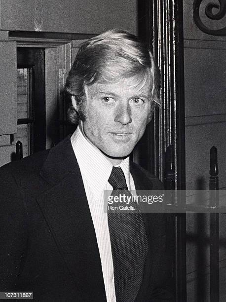 Robert Redford during Mary Lasker's Cocktail Party for Wayne Owens May 15 1974 at Harrison's Residence in Washington DC Washington DC United States