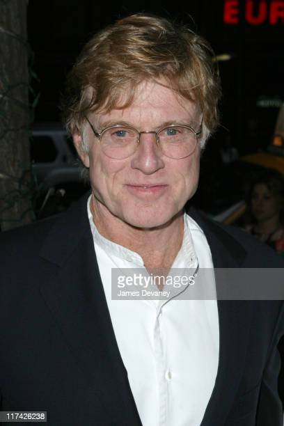 Robert Redford during Sundance Institute Celebrates RiskTakers in the Arts 3rd Annual Gala Benefit Outside Arrivals at Gotham Hall in New York City...