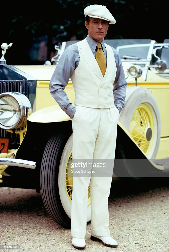 Robert Redford in The Great Gatsby : Nyhetsfoto