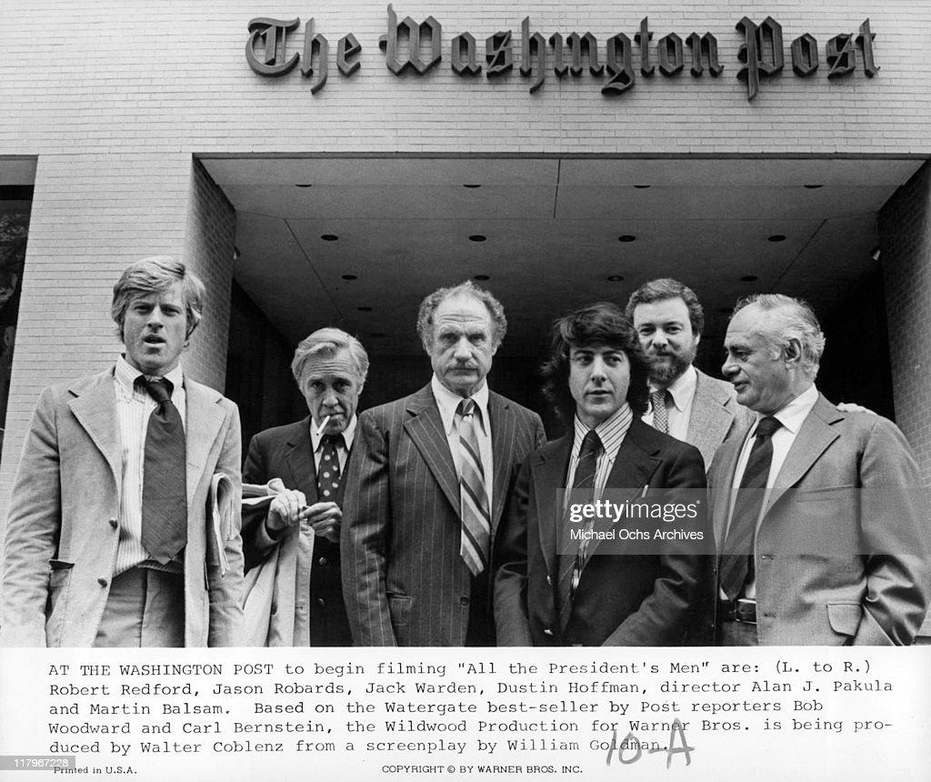 'All the President's Men' : News Photo
