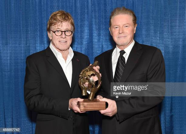 Robert Redford received the Walden Woods Project's 2014 Global Environmental Leadership Award tonight at the Citi Performing Arts Center in Boston....