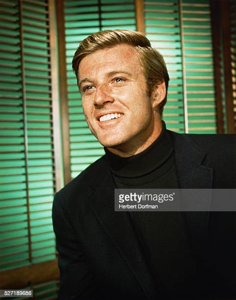 Robert Redford Smiling