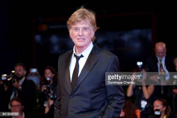 Robert Redford walks the red carpet ahead of the 'Our Souls At Night' screening during the 74th Venice Film Festival at Sala Grande on September 1...