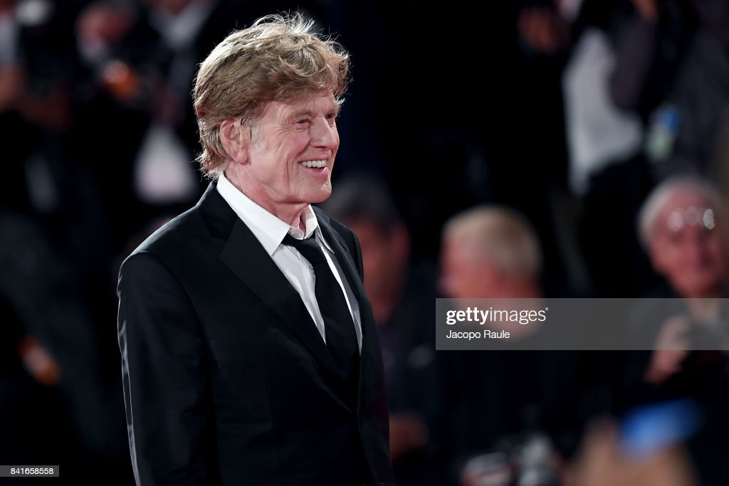 Robert Redford walks the red carpet ahead of the 'Our Souls At Night' screening during the 74th Venice Film Festival at Sala Grande on September 1, 2017 in Venice, Italy.