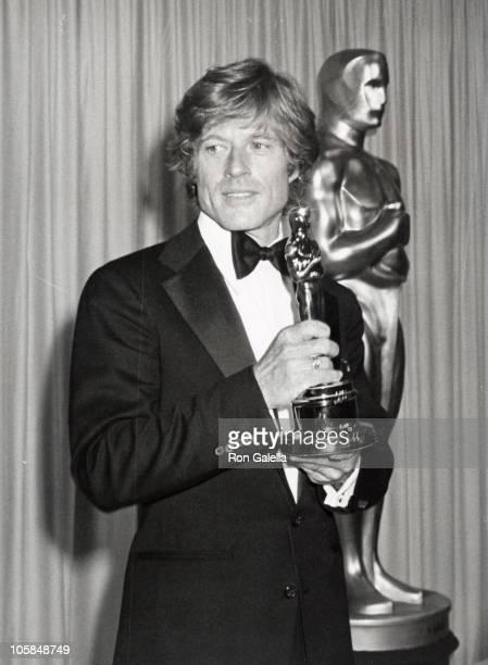 "Robert Redford, winner of Best Director for ""Ordinary People"""