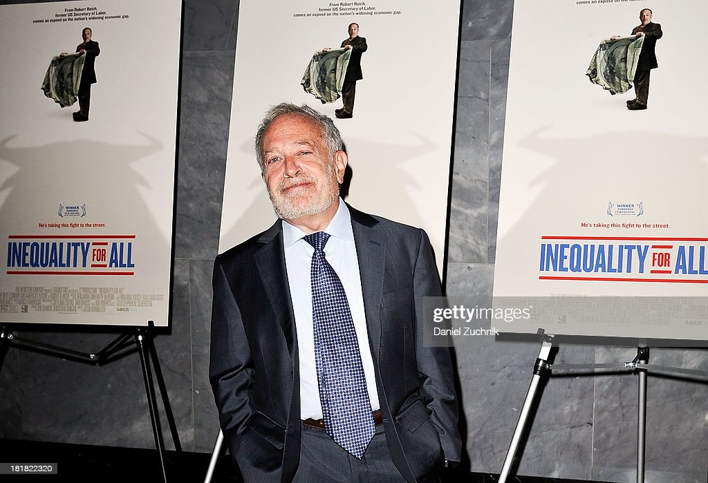 """Inequality For All"" New York Premiere"