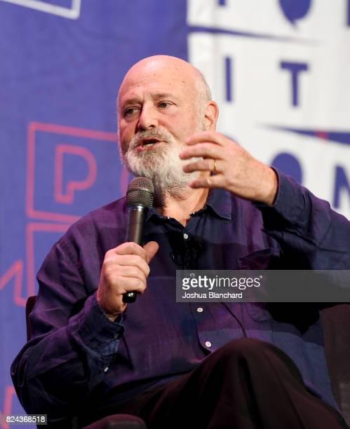Robert Reiner at 'LBJ' panel during Politicon at Pasadena Convention Center on July 29 2017 in Pasadena California