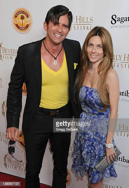 Robert Rey and Hayley Rey arrive at the opening night of the 16th Beverly Hills Film Festival at the Clarity Theater on April 14, 2010 in Beverly...