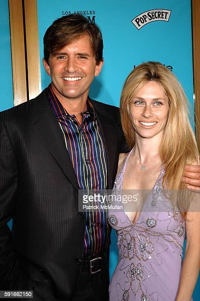 Robert Rey and Hayley Rey attend HAPPY ENDINGS Premiere at the 2005 L.A. Film Festival at Mann National Theatre on June 26, 2005.