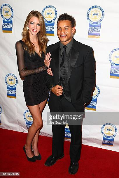 Robert Ri'chard and date arrives at the 23rd annual NAACP Theatre Awards at Saban Theatre on November 11 2013 in Beverly Hills California