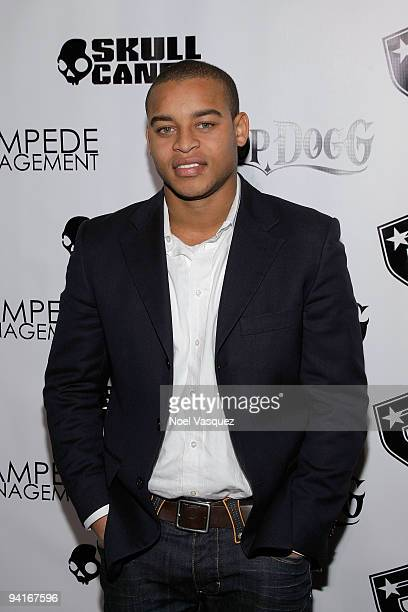 Robert Ri'chard attends the Famous Stars and Straps 10th Anniversary and Snoop Dogg's 10th album release Malice N Wonderland party at Vanguard on...
