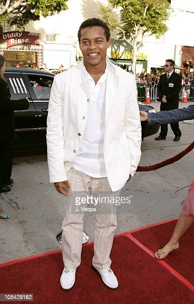 Robert Ri'Chard during House of Wax Los Angeles Premiere Red Carpet at Mann Village Theater in Los Angeles California United States