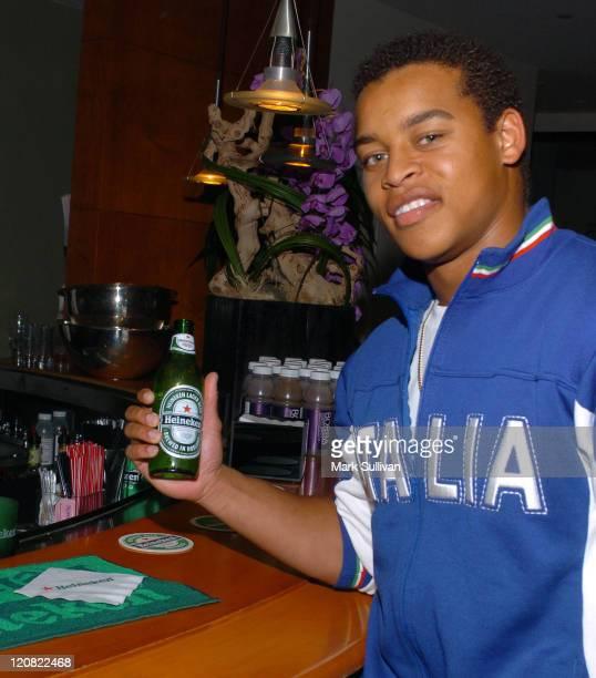 Robert Ri'chard in the Heineken Suites at the Le Meridian
