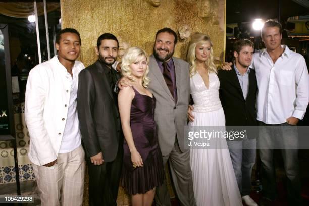 Robert Ri'Chard Juame ColletSerra Elisha Cuthbert Joel Silver Producer Paris Hilton Jon Abrahams and Brian Von Holt