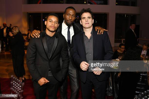 Robert Ri'chard Leon Robinson and Matt Dillon attend Jazz at Lincoln Center's 2019 Gala The Birth of Jazz From Bolden to Armstrong at Frederick P...
