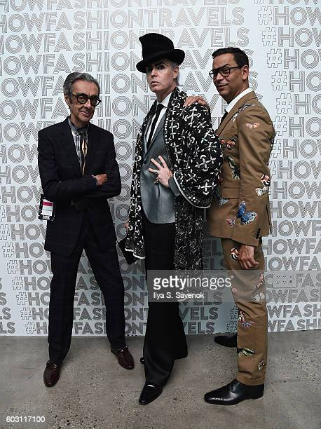 Robert Richards Patrick McDonald and James Aguiar attend Lexus Lounge At MADE New York Day 5 at Milk Studios on September 11 2016 in New York City