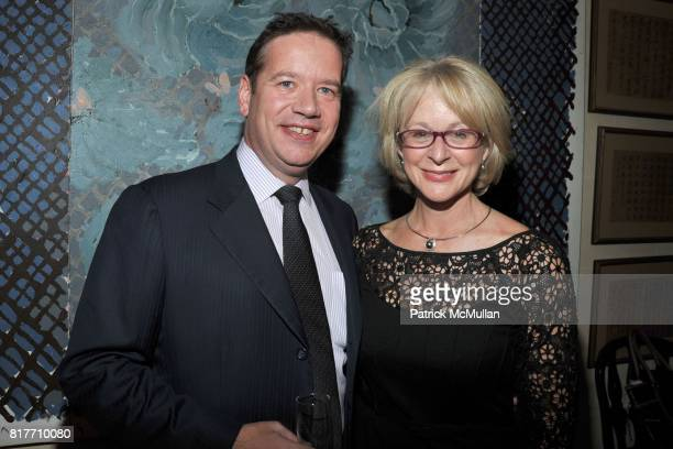 Robert RigbyHall and Laura HeeryProzes attend Kick Off Party in support of SOMALY MAM FOUNDATION Hearts and Hands Gala at Home of Cathy Hardwick on...