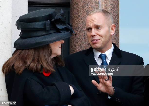 Robert Rinder attends the annual Remembrance Sunday Service at The Cenotaph on November 12 2017 in London England This year marks the first time that...