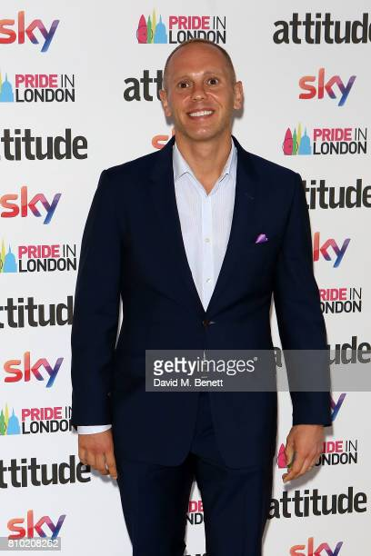 Robert Rinder attends The Attitude Pride Awards 2017 at Mandarin Oriental Hyde Park on July 7 2017 in London England