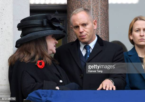 Robert Rinder during the annual Remembrance Sunday Service at The Cenotaph on November 12 2017 in London England