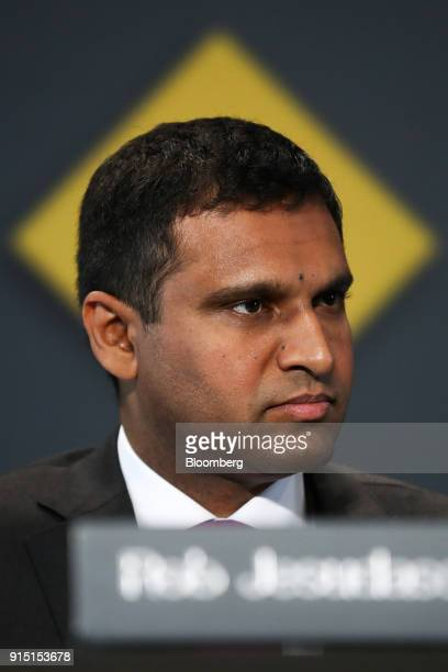 Robert 'Rob' Jesudason chief financial officer of Commonwealth Bank of Australia attends a news conference in Sydney Australia on Wednesday Feb 7...