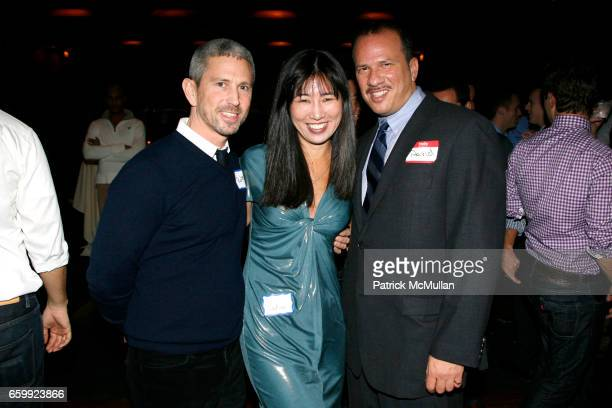 Robert Rokoff Nadine ChinSantos and David Kaye attend TOYS FOR TOTS 2009 at Chelsea Piers Pier 60 on December 6 2009 in New York