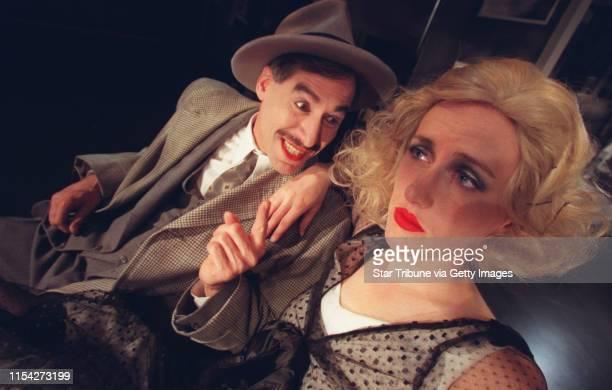 Robert Rosen as Continental Op and Sarah Agnew as Dinah ``Red Harvest'' _ a Dashiell Hammett story with terrific film noir lighting effects...