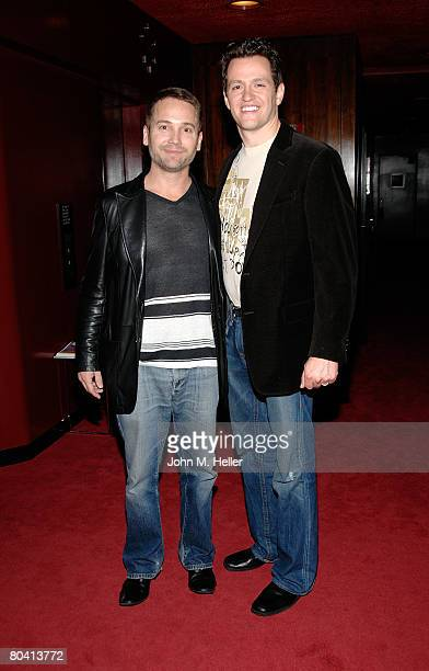 Robert Royston Producer Love N' Dancing and Tom Malloy attend the post screening reception at Departure Studios in Los Angeles California on March 27...