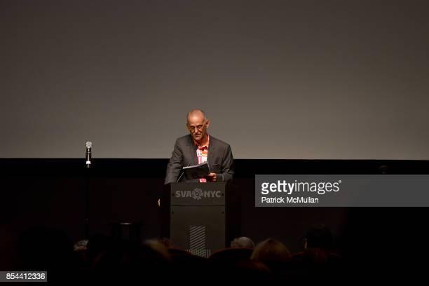 Robert Rubin attends the Glenn O'Brien Memorial Celebration at SVA Theatre on September 10 2017 in New York City