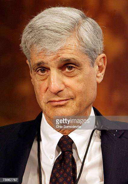 Robert Rubin director and chairman of the Executive Committee of the Citigroup Inc participates in a panel discussion on capital markets at...