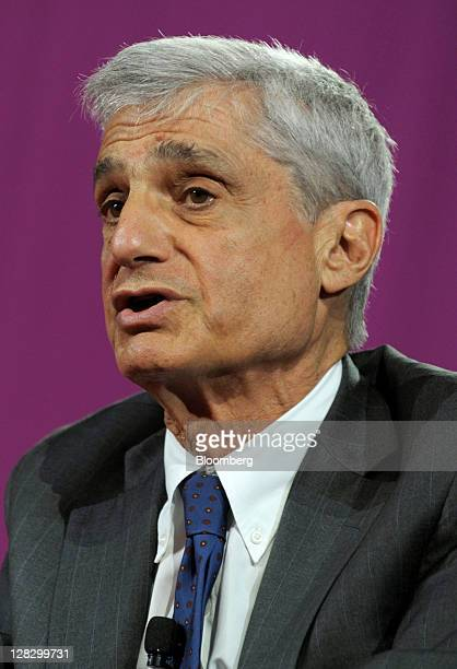 Robert Rubin former US treasury secretary speaks at the 2011 World Business Forum in New York US on Thursday Oct 6 2011 The World Business Forum is...
