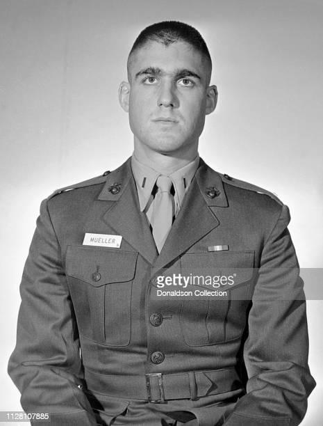Robert S Mueller III in his marine uniform in circa 1967