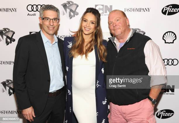 Robert Safian Jessica Alba and Mario Batali attend Passion Play How Jessica Alba and Mario Batali Created Multichannel Marvels during the Fast...