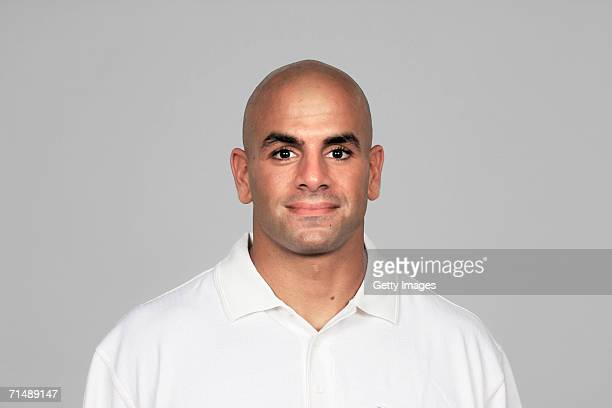 Robert Saleh of the Houston Texans poses for his 2006 NFL headshot at photo day in Houston Texas