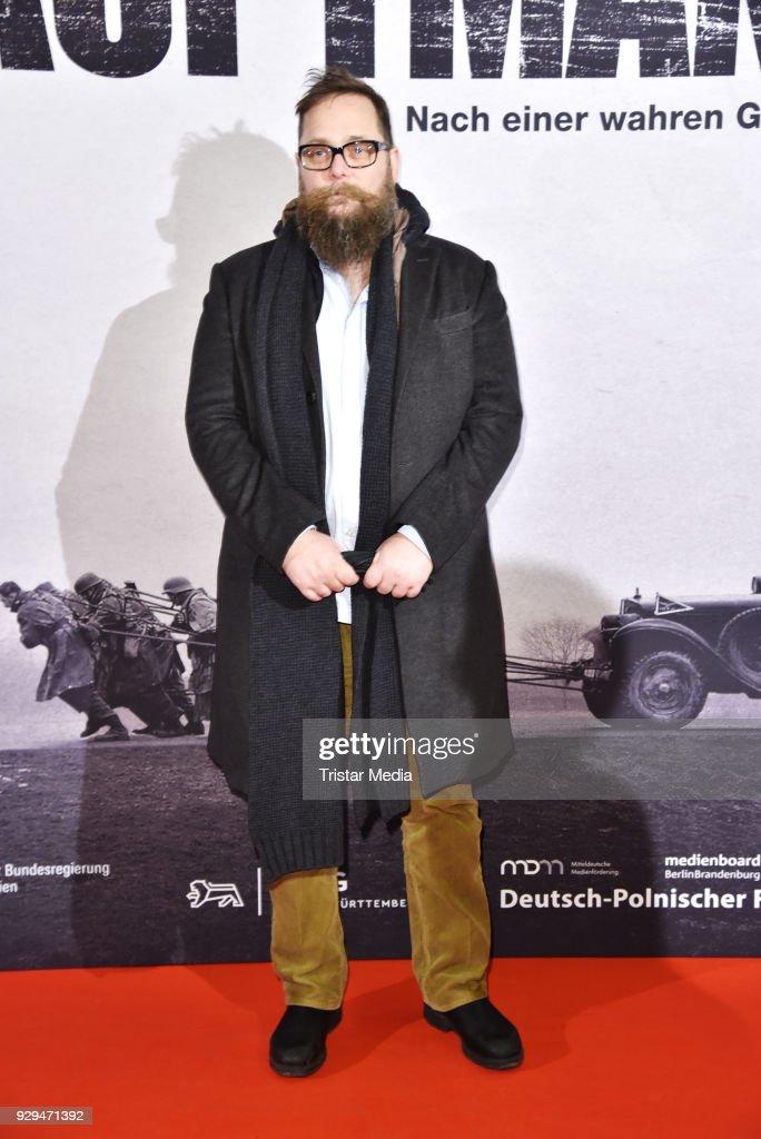 Robert Schwentke attends the premiere of 'Der Hauptmann' at Kino International on March 8, 2018 in Berlin, Germany.