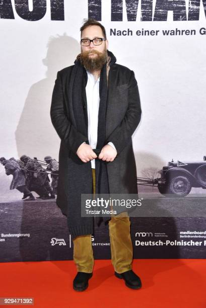 Robert Schwentke attends the premiere of 'Der Hauptmann' at Kino International on March 8 2018 in Berlin Germany