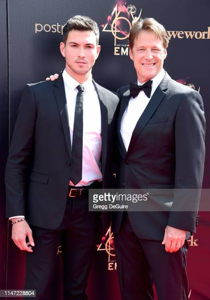 Robert Scott Wilson attends the 46th annual Daytime Emmy Awards at Pasadena Civic Center on May 05 2019 in Pasadena California