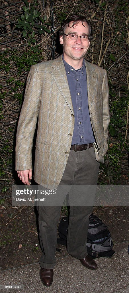 Robert Sean Leonard poses backstage during a performance of 'To Kill A Mockingbird' at Regents Park Open Air Theatre on May 22, 2013 in London, England.