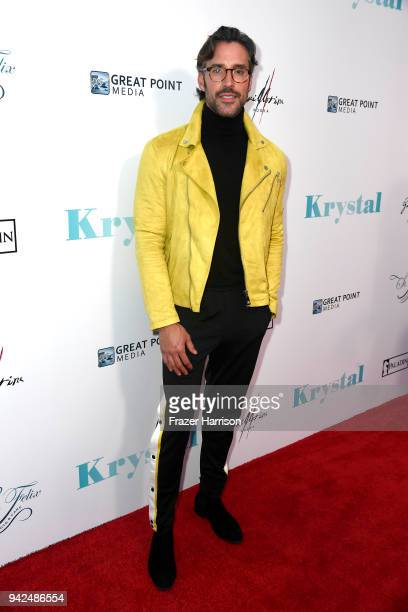 Robert Sepœlveda Jr attends the Premiere Of Netflix's Krystal at ArcLight Hollywood on April 5 2018 in Hollywood California