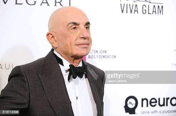 Robert Shapiro attends the 24th annual Elton John AIDS Foundation's Oscar viewing party on February 28, 2016 in West Hollywood, California.