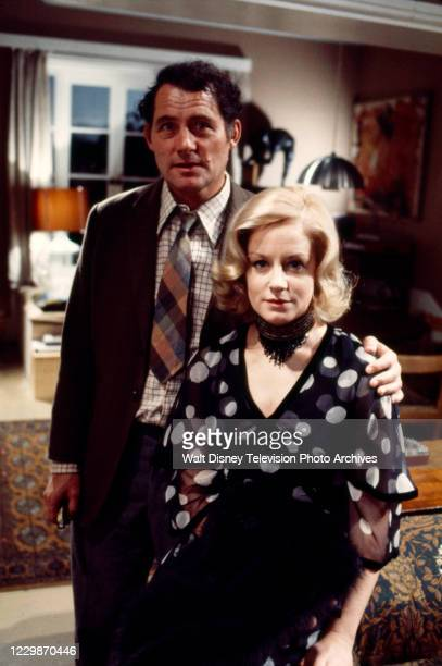 Robert Shaw, Mary Ure appearing in the ABC tv series 'The Wide World of Mystery', episode 'The Break'.