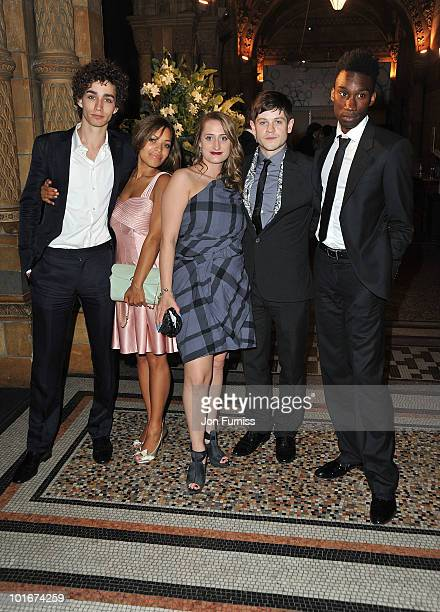 Robert Sheehan, Antonia Thomas, Lauren Socha, Iwan Rheon and Nathan Stewart-Jarrett of 'Misfits' attend the Philips British Academy Television Awards...