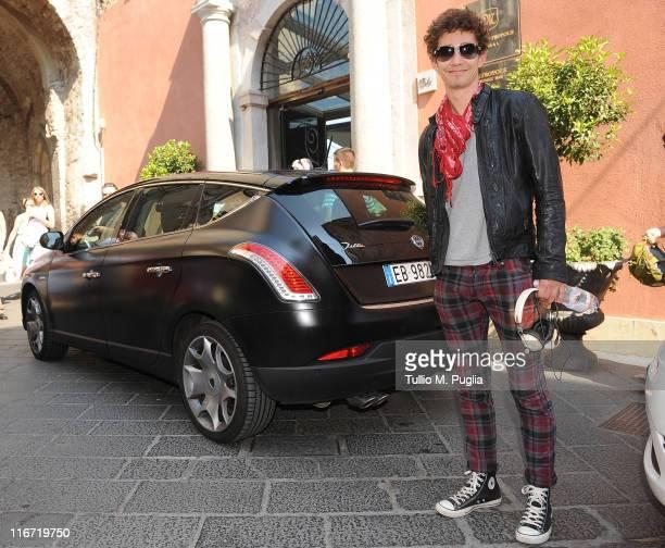 Robert Sheehan arrives at the 57th Taormina Film Fest on June 17 2011 in Taormina Italy