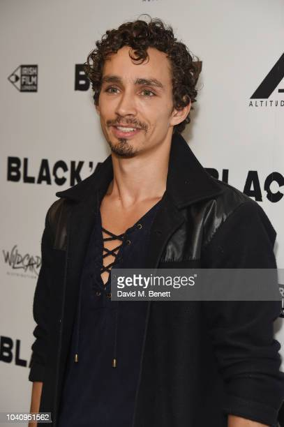 Robert Sheehan attends a Gala Screening of 'Black '47' at Odeon Covent Garden on September 26 2018 in London England