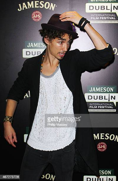 """Robert Sheehan attends a screening of """"The Road Within"""" during the Jameson Dublin International Film Festival at Cineworld on March 22, 2015 in..."""