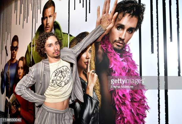 Robert Sheehan attends Netflix's 'Umbrella Academy' Screening at Raleigh Studios on May 11 2019 in Los Angeles California